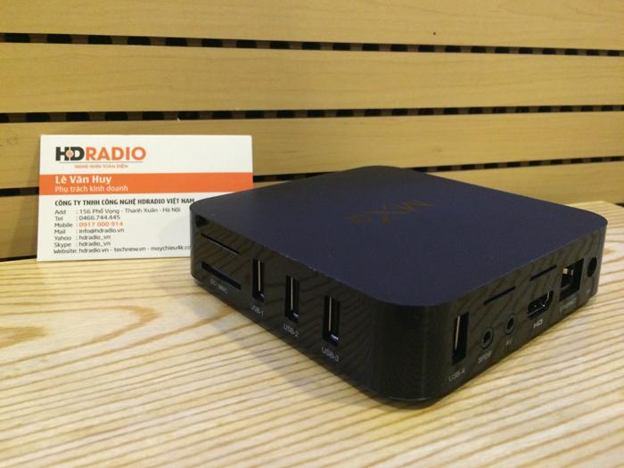 Android TV Box MXQ Amlogic S805 góc cạnh