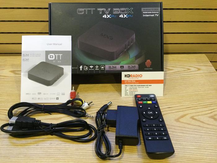 Phụ kiện Android TV Box MXQ Amlogic S805