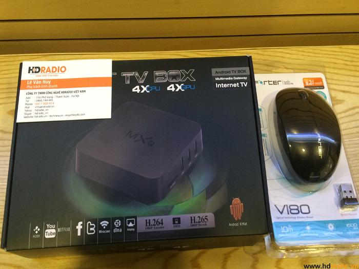 [COMBO]TV Box MXQ S805 + Chuột Không Dây Forter Giá Siêu Rẻ