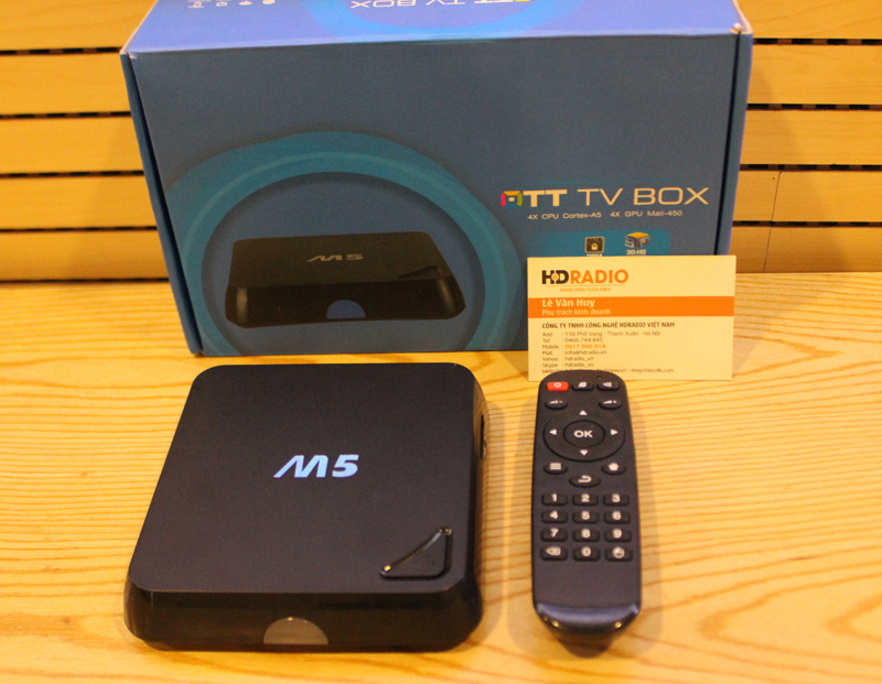 ANDROID ENY BOX M5