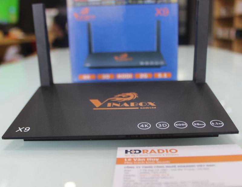 Mặt trước TV Box Vinabox X9