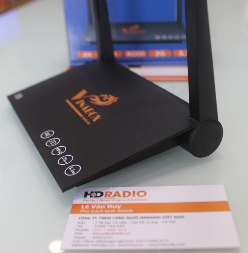 Trông TV Box Vinabox X9 giống 1 cái wifi đúng nghĩa