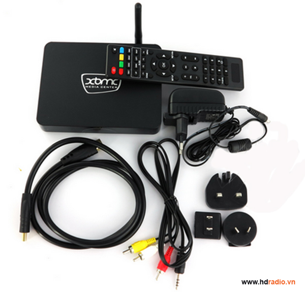 Android TV box VMX- V8H eMMC S802H Quad Core-phụ kiện