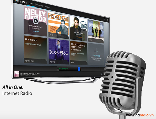 Android TV Box Xtreamer Wonder Android Box quốc tế-thưởng thức âm nhạc
