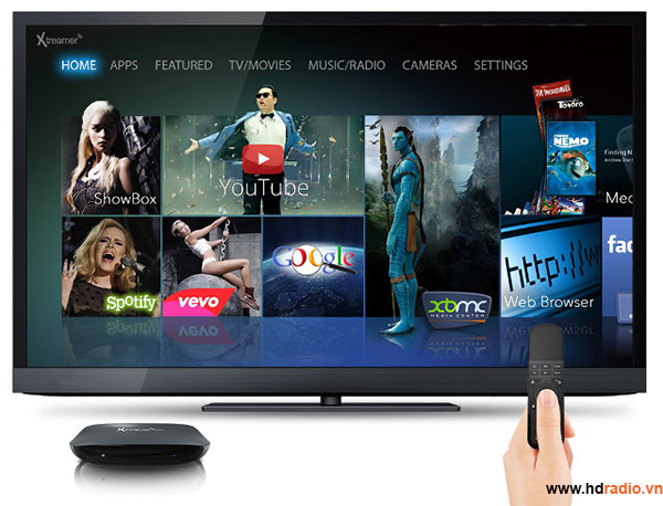 Android TV Box Xtreamer Wonder Android Box quốc tế-xem phim
