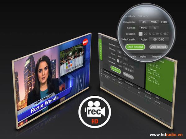 Android Box Xtreamer Prodigy 4k đẳng cấp thế giới-ghi hình
