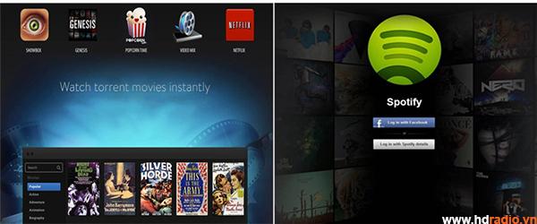 Android Box Xtreamer Prodigy 4k đẳng cấp thế giới-ứng dụng