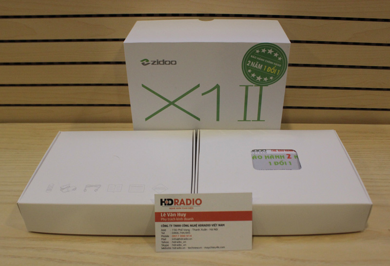 Android Box Zidoo X1 II - Rockchip RK3229 - H.265 10Bit 4K@60fps