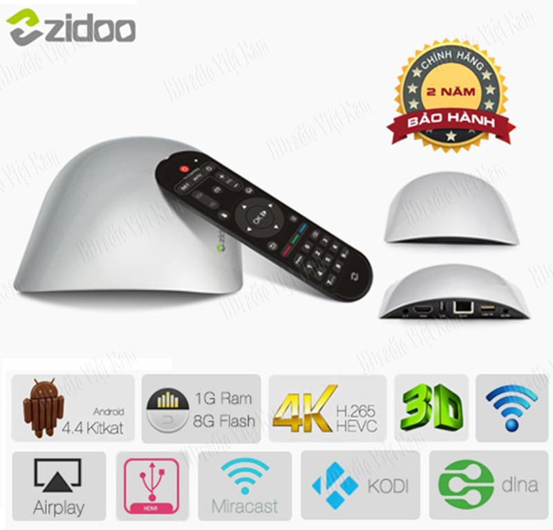 Android TV Box Zidoo X1