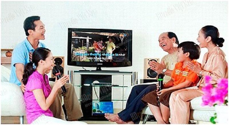 Giúp khách hàng trải nghiệm hát Karaoke tại nhà.