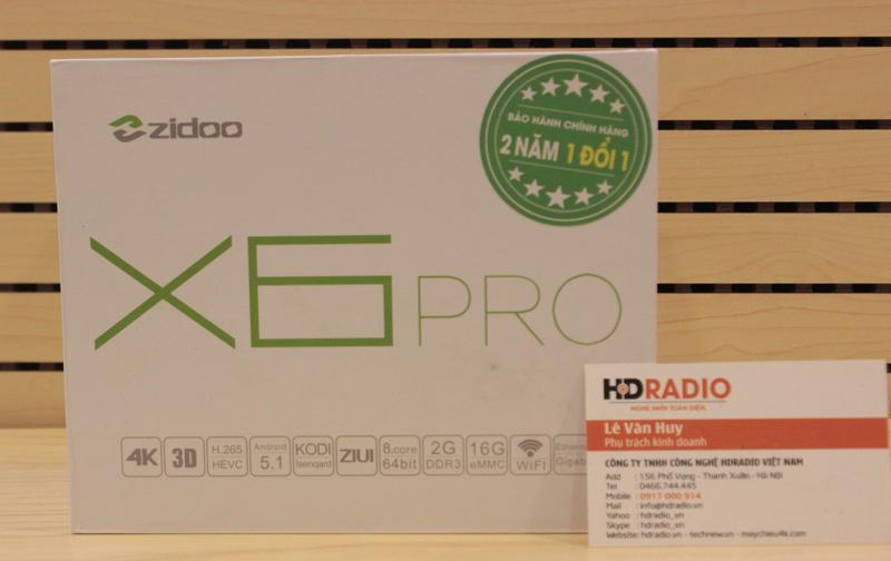 Android Box Zidoo X6 Pro