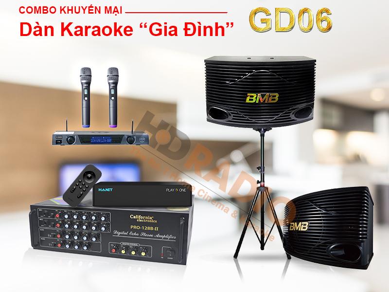 Dàn karaoke gia đình GD06