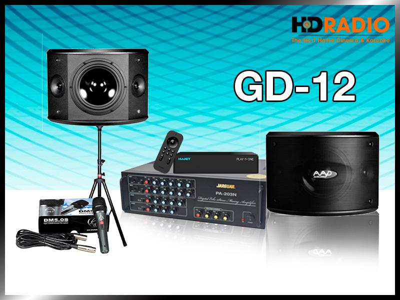 Dàn karaoke gia đình GD12