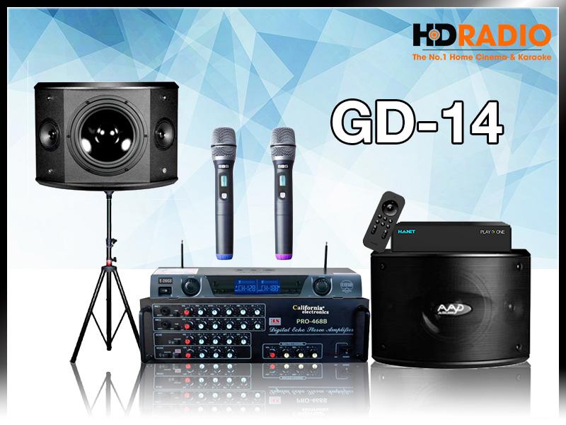 Dàn Karaoke gia đình GD14