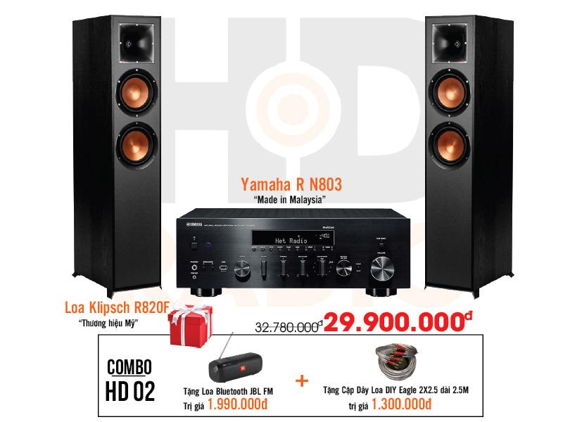 Dàn âm thanh nghe nhạc HD2 giá rẻ nhất tại hdradio 1