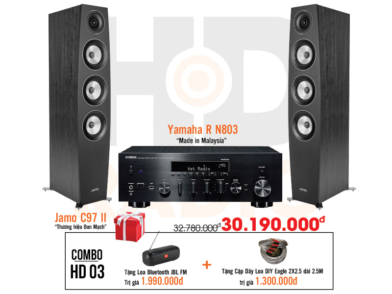 Dàn âm thanh nghe nhạc HD3 giá rẻ nhất tại hdradio 2