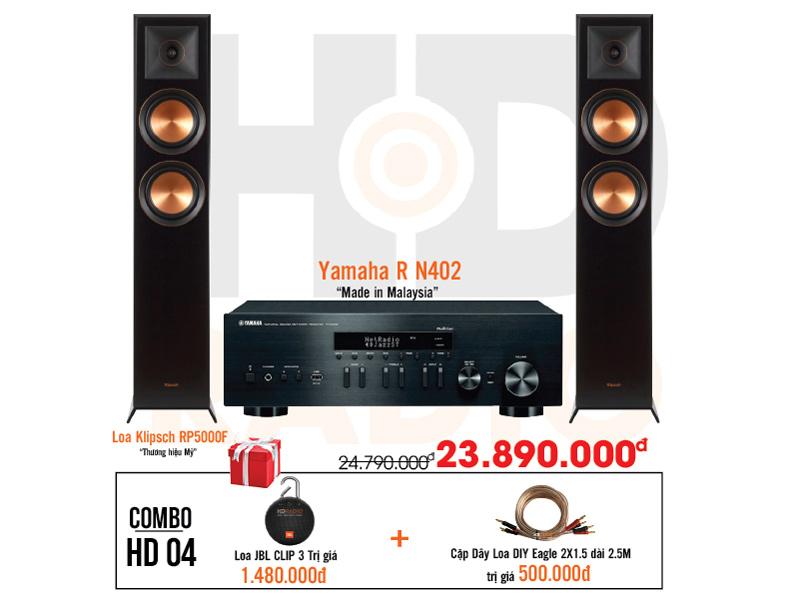 Dàn âm thanh nghe nhạc HD4 giá rẻ nhất tại hdradio 4
