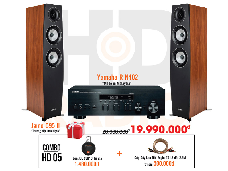 Dàn âm thanh nghe nhạc HD5 giá rẻ nhất tại hdradio 1