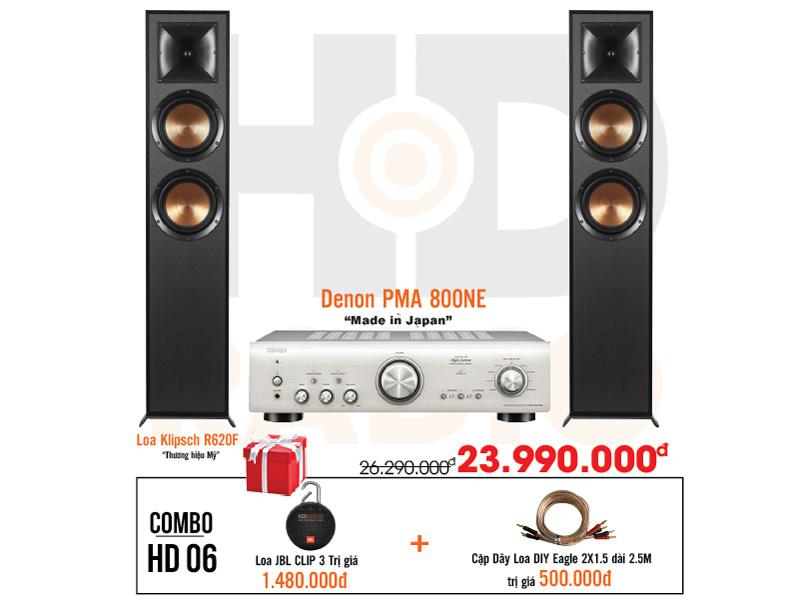 Dàn âm thanh nghe nhạc HD6 giá rẻ nhất tại hdradio 2