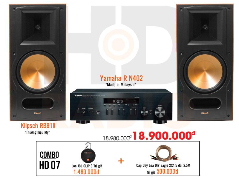 Dàn âm thanh nghe nhạc HD7 giá rẻ nhất tại hdradio 1