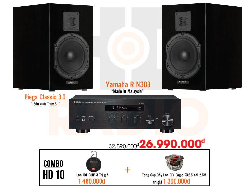 Dàn âm thanh nghe nhạc HD10 giá rẻ nhất tại hdradio 2
