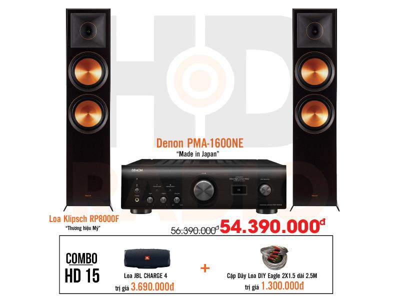 Dàn âm thanh nghe nhạc HD15 giá rẻ nhất tại hdradio 1