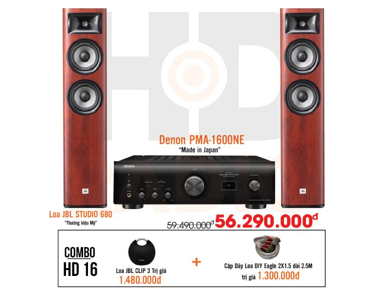 Dàn âm thanh nghe nhạc HD16 giá tốt nhất tại hdradio 1