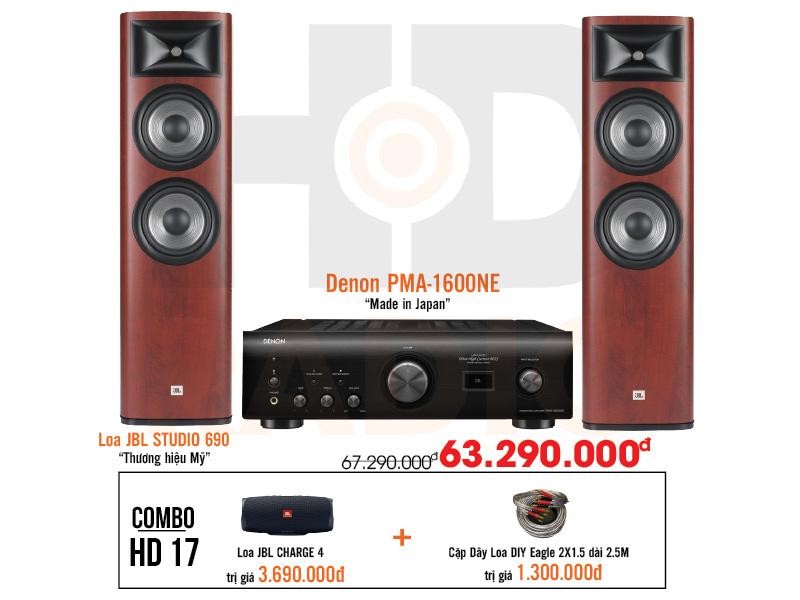 Dàn âm thanh nghe nhạc HD17 giá tốt nhất tại hdradio 1