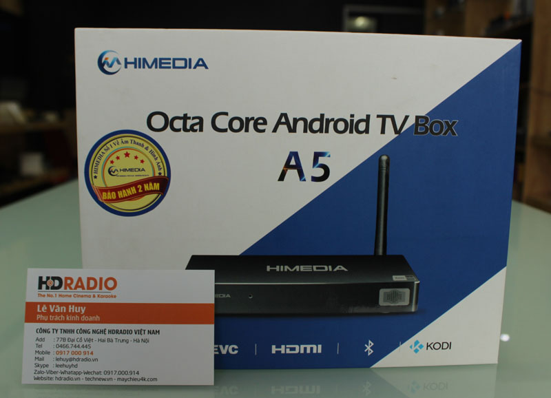 Vỏ hộp android Box Himedia A5
