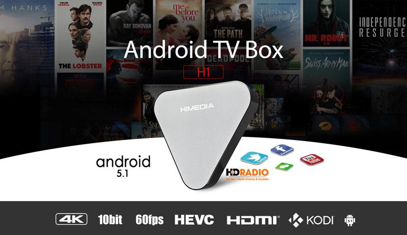 Himedia H1 chạy hệ điều hành Android 5.1