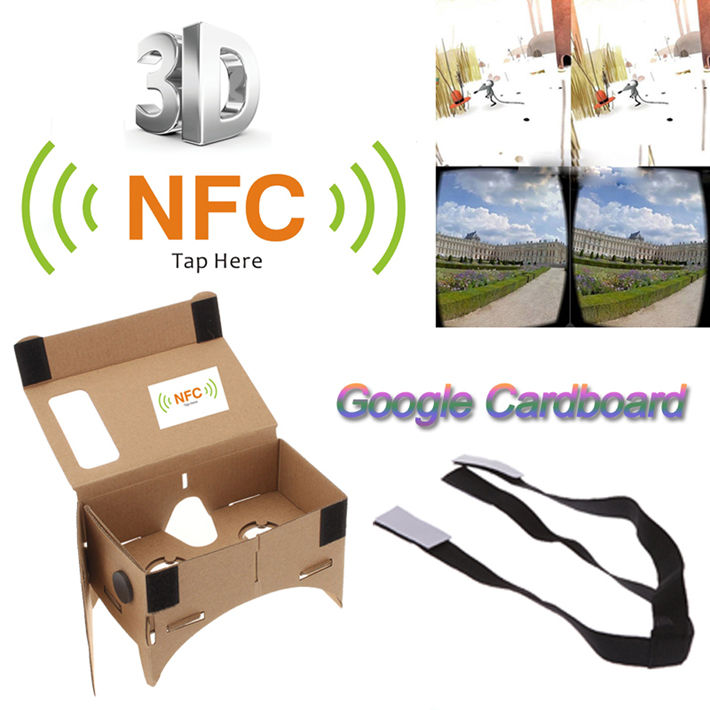 Kính thực tế ảo Cardboard vr nfc