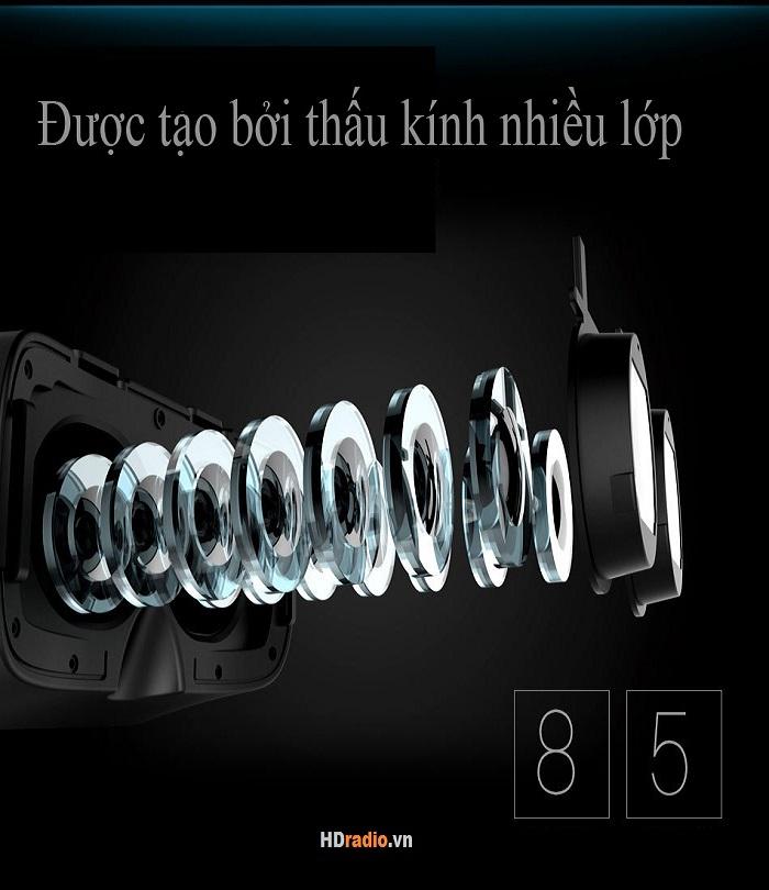 Kính thực tế ảo VR Box 2 có cấu tạo 8 lớp kính
