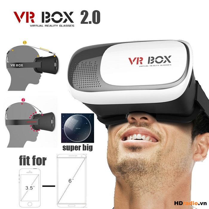 Kính thực tế ảo VR Box 2 dễ dàng thay đổi cự li mắt mỗi người