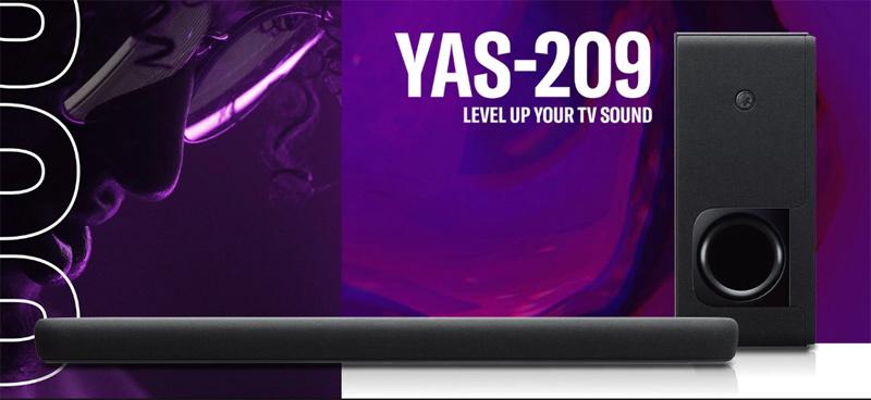 Loa soundbar Yamaha YAS 209 mới nhất 2