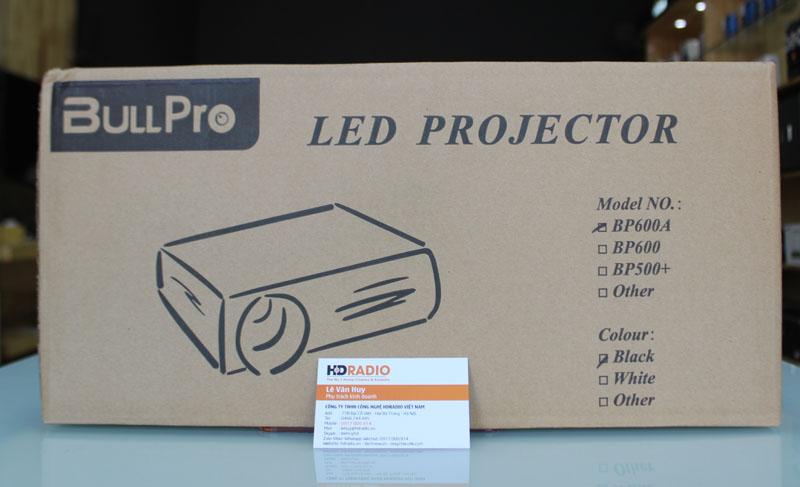 Mặt trước vỏ hộp Máy chiếu BullPro BP600A
