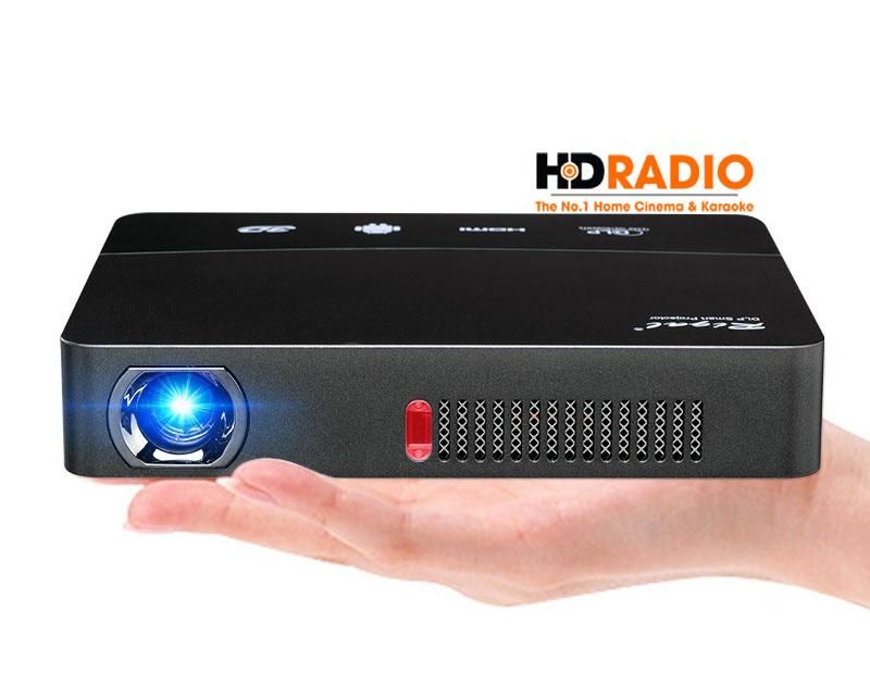 máy chiếu Tyco D1600 thiết kế tinh tế, nhỏ gọn linh động cao