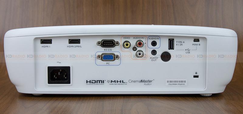 máy chiếu BenQ TH683 kết nối