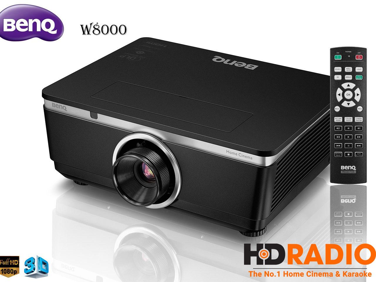 Máy chiếu 3D BenQ W8000