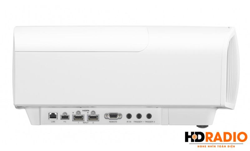 Bên cạnhMáy chiếu 4K Sony VPL-VW320ES - Màu trắng