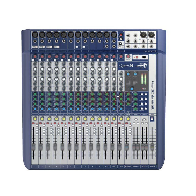 Mixer Soundcraft Signature 16