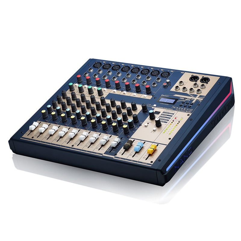 Mixer Soundcraft NANO M12BT