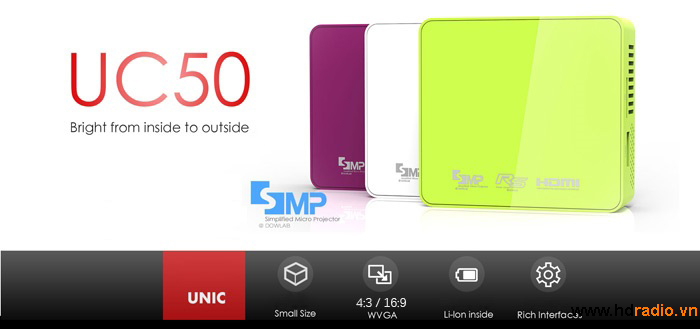 máy chiếu unic uc50
