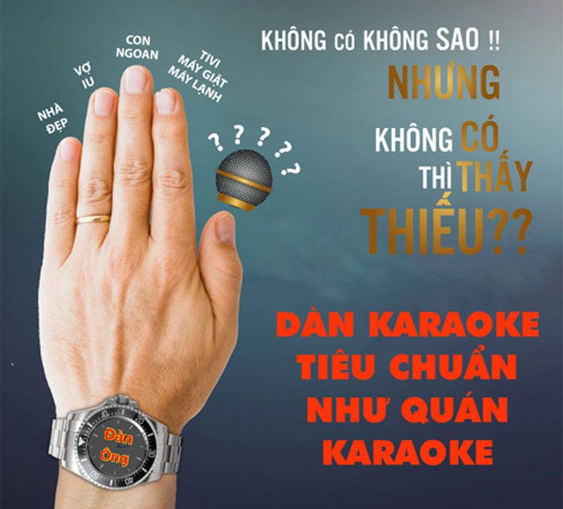 cách phối ghép dàn karaoke