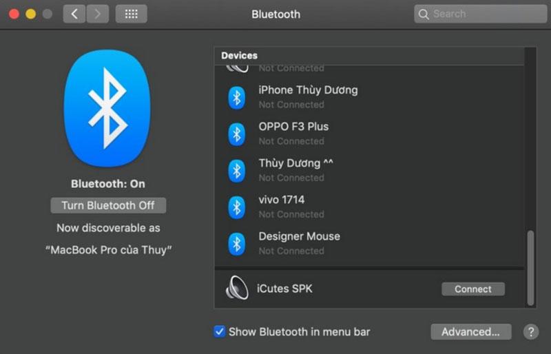 cách kết nối bluetooth laptop