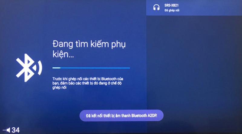 kết nối loa bluetooth với tivi samsung