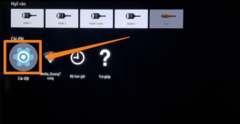 kết nối bluetooth với tivi