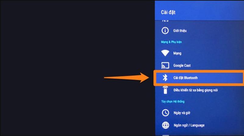 tivi kết nối bluetooth