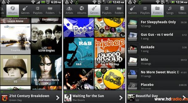 10 ứng dụng android nghe nhạc Lossless chất lượng cao