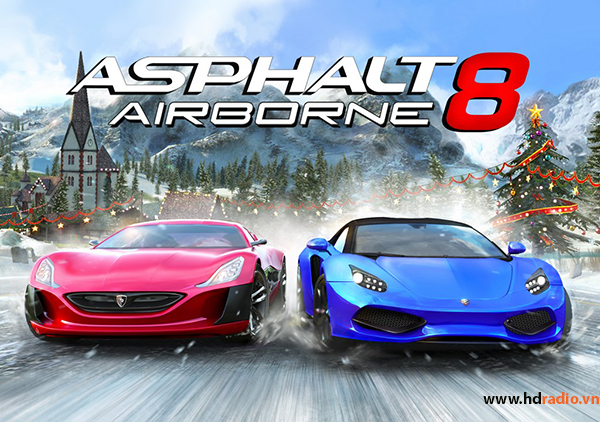 Asphalt 8 – Game đua xe ô tô đỉnh cao trên Android TV Box