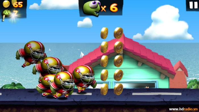 Zombie Tsunami: Game android tv box vui nhộn cực hay